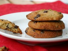Chocolate chip cookies.  Add 1/4 c chopped dark chocolate and 2 T cocoa; decrease honey to 1/4 cup.
