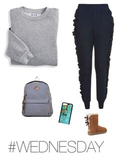 """""""💋⭐️💋"""" by jadesfit on Polyvore featuring Topshop, UGG and Blair"""