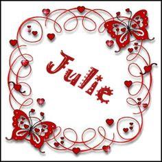 JULIE Name Pictures, Letter J, Names, Image