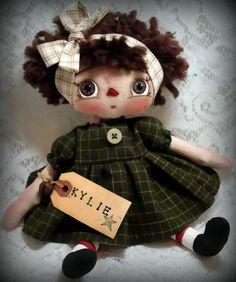 Kylie Raggedy Annie Doll by Allisbright on Etsy, $32.00
