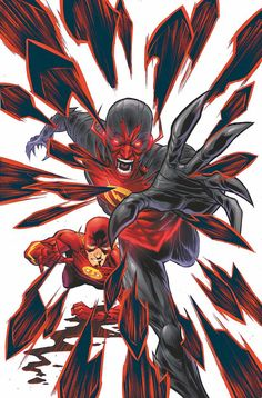 'The Flash' co-writer Brian Buccellato told CBR News exactly why gets a rush out of writing Barry Allen's enemies -- Grodd, Reverse-Flash and the Rogues -- in three one-shots for DC Comics' Villains Month. Flash Comics, Arte Dc Comics, Marvel E Dc, Marvel Comics, Reverse Flash New 52, Aquaman, Eobard Thawne, O Flash, Comic Art