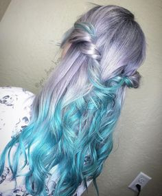 Vivid Mermaid Hair Trend Transforming Hair Into A Stunningly Styled Marine Artwork Inspired by beaches, fairytales and myths, the sea and the deep blue depths of the ocean, women are dyeing their hair...