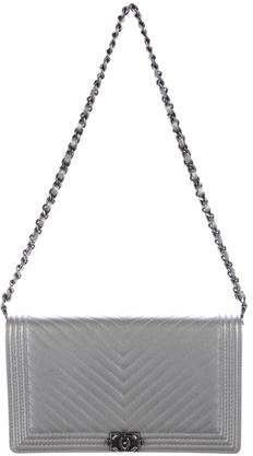 45c4727547e5 Chanel 2015 Chevron Boy Wallet on Chain. Heylily · Timeless bag chanel