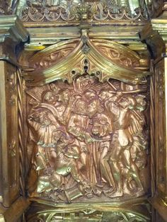 Treason of Judas in the St. Andrew church of Cologne