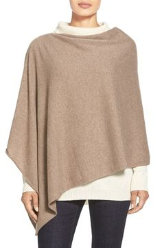 Eileen Fisher Cashmere Poncho (Regular & Petite) available at #Nordstrom