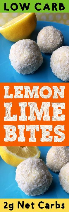 These low carb Keto No Bake lemon lime energy bits make the perfect dessert or after work out snack. They are Ketogenic, Atkins, Banting, THM_S, LCHF, Grain Free, Gluten Free and Sugar Free compliant. #resolutioneats #lowcarb #keto #lemon #lime #cheesecake
