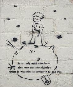 Le petit prince  Best graffiti ever!