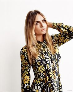 Cara Delevingne Teams with Topshop for Spring/Summer 2015