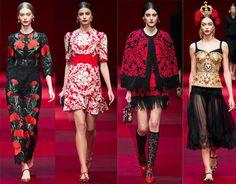 Milan, Milan... We Love You Milan: Dolce & Gabbana Spring/Summer 2015