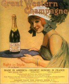 Great Western Champagne Girl 1920