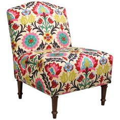 Zulleサンタマリア砂漠の花キャメルバックのアクセントの椅子