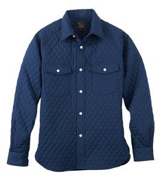 Men's Quilted Raglan Shirt by WOOLRICH® The Original Outdoor Clothing Company