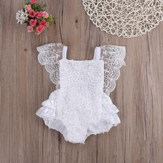 Kids Baby Girls Lace Floral Garden Cake Romper Jumpsuit Sunsuit Outfits-in Rompers from Mother & Kids on Aliexpress.com | Alibaba Group