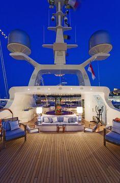 Sail away to your honeymoon.