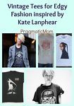 Vintage Tees for Edgy Fashion inspired by Kate Lanphear