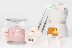 Bougie rose avec un bijou en argent   JewelCandle.fr