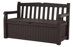 Patio Storage Outdoor Bench Garden Box Seat Deck Pool Yard Chair Bin Space New   | eBay
