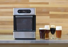 "The Pico. Photo via PicoBrew. A Seattle startup has developed what it calls a ""3D printer for beer"" — a device that can be used by just about anyone inside #beer #gadget #beernews"