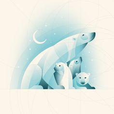 [Tuto] Comment réaliser une illustration d'ours polaires sous illustrator ?