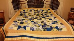 You have to see Altered Squares Quickie Quilt by musicianfromTex!