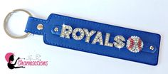 Personalize your own! Visit our website at www.charmsations.com/#cheatumcharm    #royals #baseball