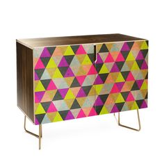 This Credenza is hand manufactured in Denver, Colorado! It is made of Baltic birch construction with ultra smooth durable gloss finishwith the option of Black