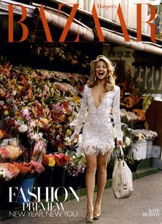 "Check out ""Harper's Bazaar Cover January 2010 