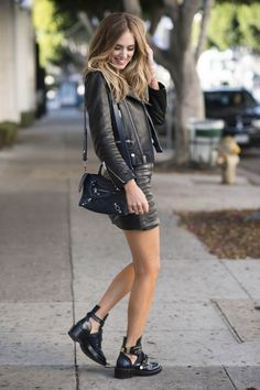 Leather kinda girl