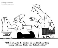 The #1 easiest way to stay healthy forever! | via @SparkPeople #funnies #humor
