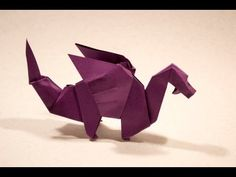 ▶ #31 Dragon by Edwin Corrie - Yakomoga Origami tutorial - YouTube