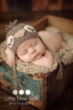 Newborn photo prop newborn hat newborn boy by BabiesRepublic