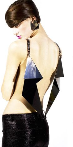Inspired by 19th Century French prostitutes, art deco, 1920's and the early 70's.