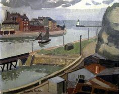 Entrance to the Port by Brynhild Parker