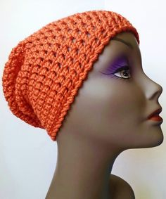 Crochet Pattern   The Townie Slouch   7th & Prisma