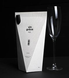 Beautiful Packaging Design Examples - 10 vin grâce Packaging Design by minimalist Wine used to be one of the most expensive liquors in some countries a few decades ago. Now it has become so affordable that we can even enjoy wine with a few dollars.