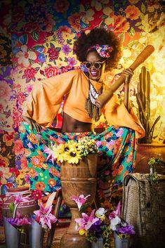 """Campanha da coleção """"Anunciação"""" da marca cearense Ahaze. Foto: Voir Image"""