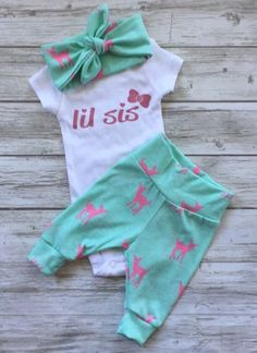A personal favorite from my Etsy shop https://www.etsy.com/ca/listing/384967130/newborn-baby-coming-home-outfit-baby