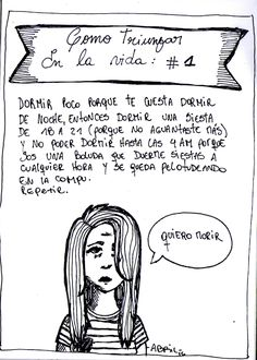 Otoño Abriliano Historietas en castellano dibujo drawing comic