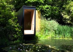The quality of a space can be impacted not only by it's surroundings but also the structure itself. Such is the case with this little hide-away Forest Pond House in the UK. Designed by TDO Architecture, this tiny shelter provides a space for both children and adults alike; being used for playing and meditation. For more info & pics go to: http://www.humble-homes.com/a-tranquil-forest-pond-tiny-house/