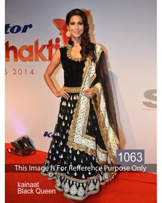 Bollywood Designer Slawar kammez Kainaat Black Queen