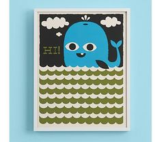 Say Hello to My Little Whale by Tad Carpenter $59