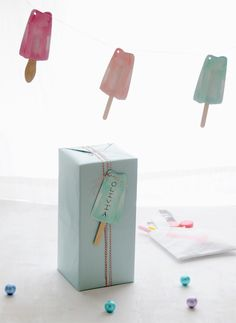 Popsicle Party Printables + DIY - Home - Creature Comforts - daily inspiration, style, diy projects + freebies