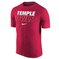 Dri Fit Legend Short Sleeve Tee. Temple University Men's Performance Apparel