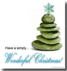Zen Christmas Card