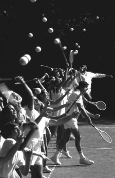 Private tennis court, Westhampton New York, 1972