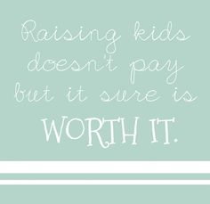 Being a stay at home mom is not the most glamorous job, however, it is the most rewarding and I would not trade it for anything!