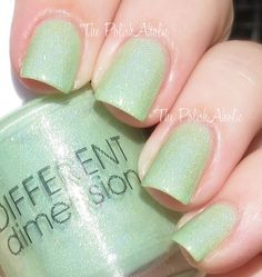 The PolishAholic: Different Dimension Halloween 2013 Silenced The Lambs Collection Swatches