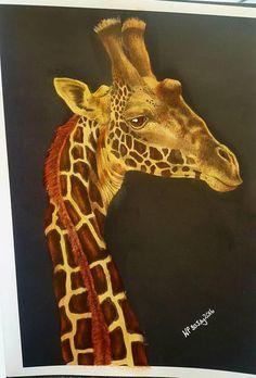Giraffe By Wendy Perry