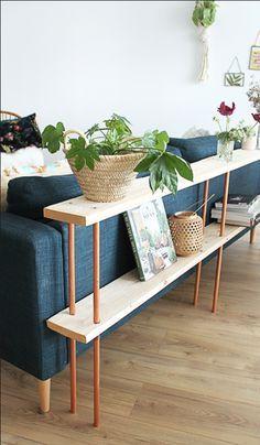 Tuto: Make a design wooden sofa behind - DIY Decor Ideas Decor, Home Diy, Furniture Makeover, Furniture, Wooden Sofa, Diy Decor, Diy Home Decor, Diy Apartments, Room Decor