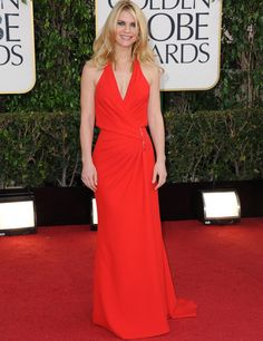 Red,red, red! Claire Danes